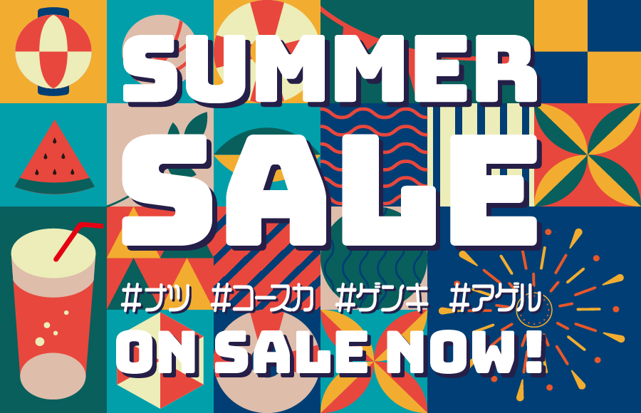 SUMMER SALE ON SALE NOW!